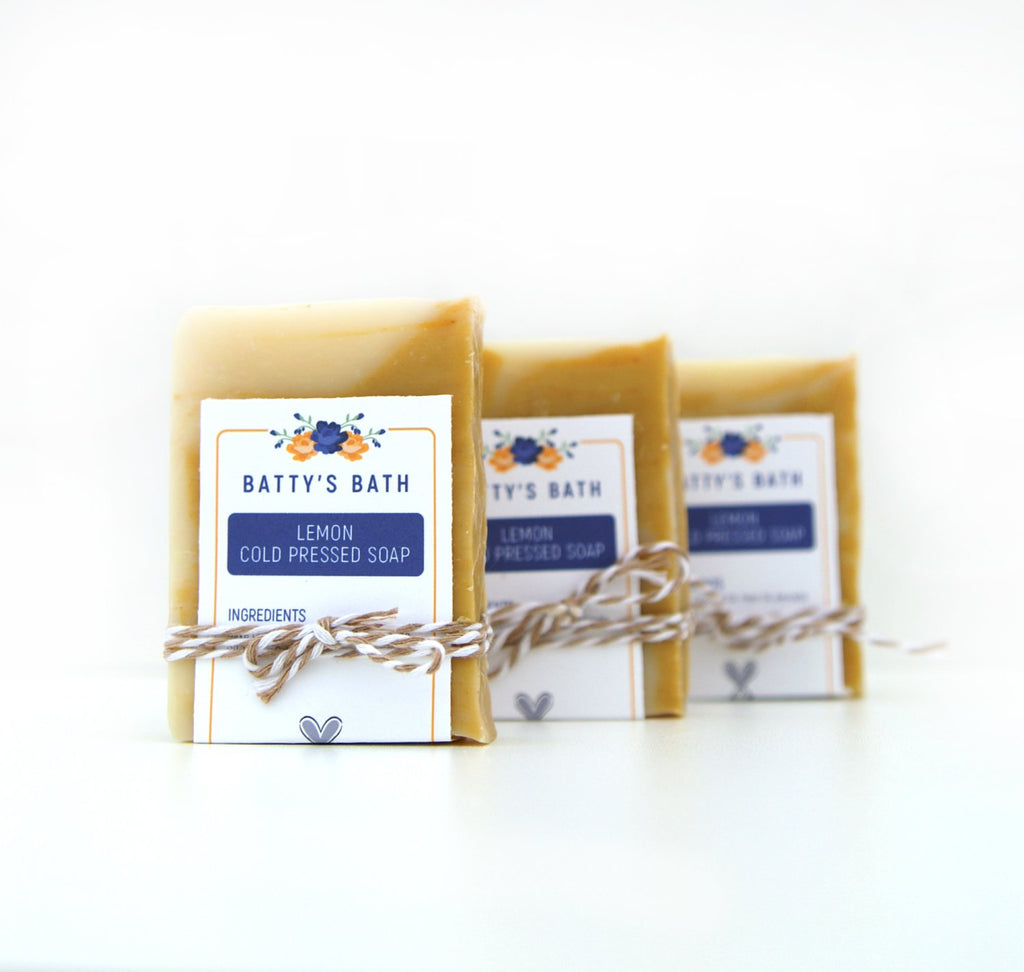 Lemon Cold Press Soap Bar