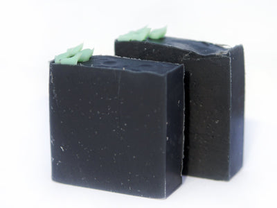 Tea Tree + Charcoal Cold Pressed Soap