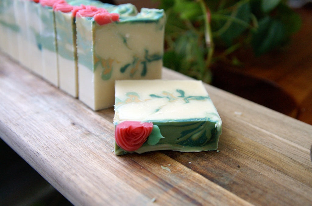 Spring Fling Berries + Melon Soap