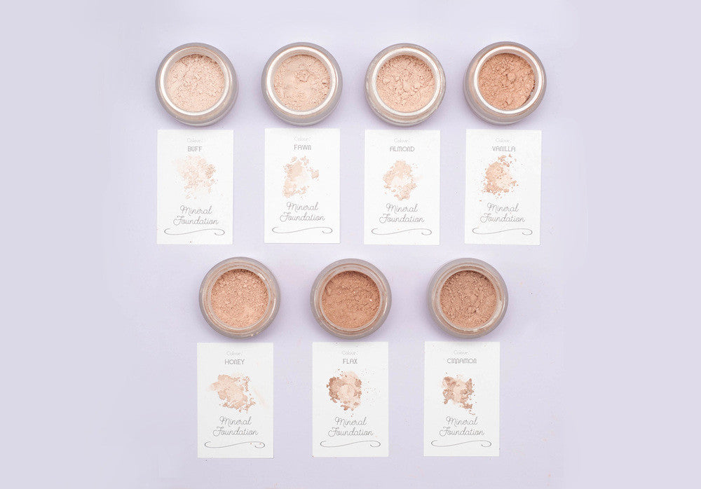 Mineral Makeup Foundation SAMPLES