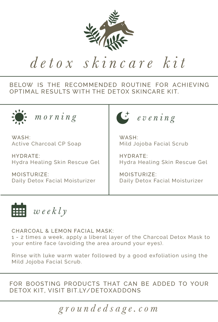 Detox Skincare Kit for Oily Skin