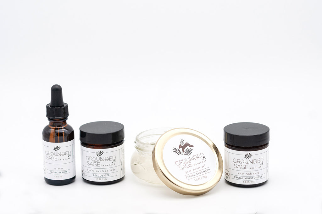 Detox Skincare Kit for Sensitive, Combo, or Damaged Skin