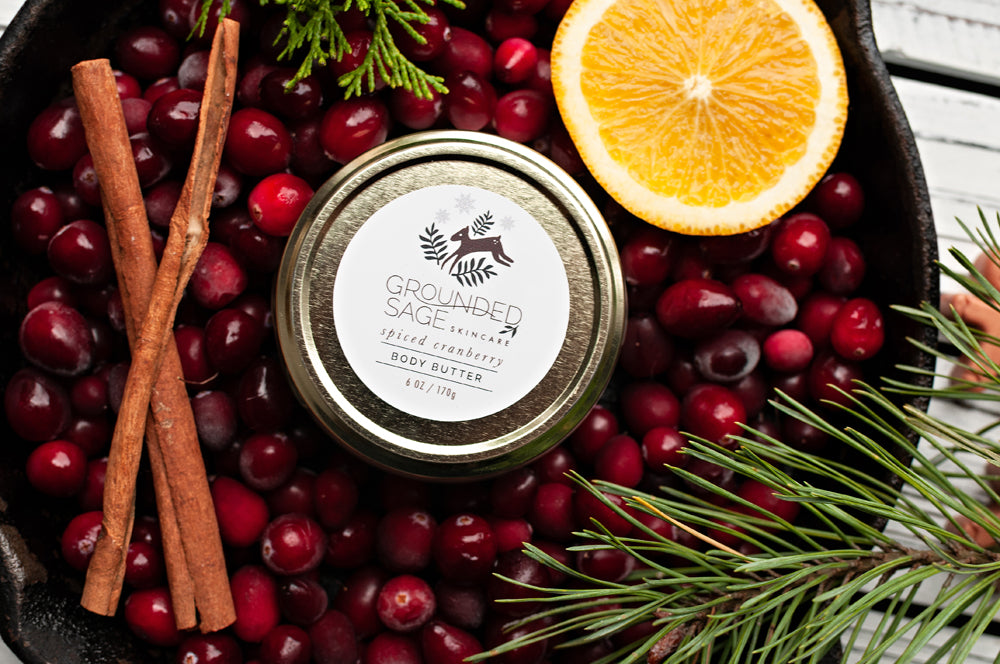 Spiced Cranberry Holiday Body Butter