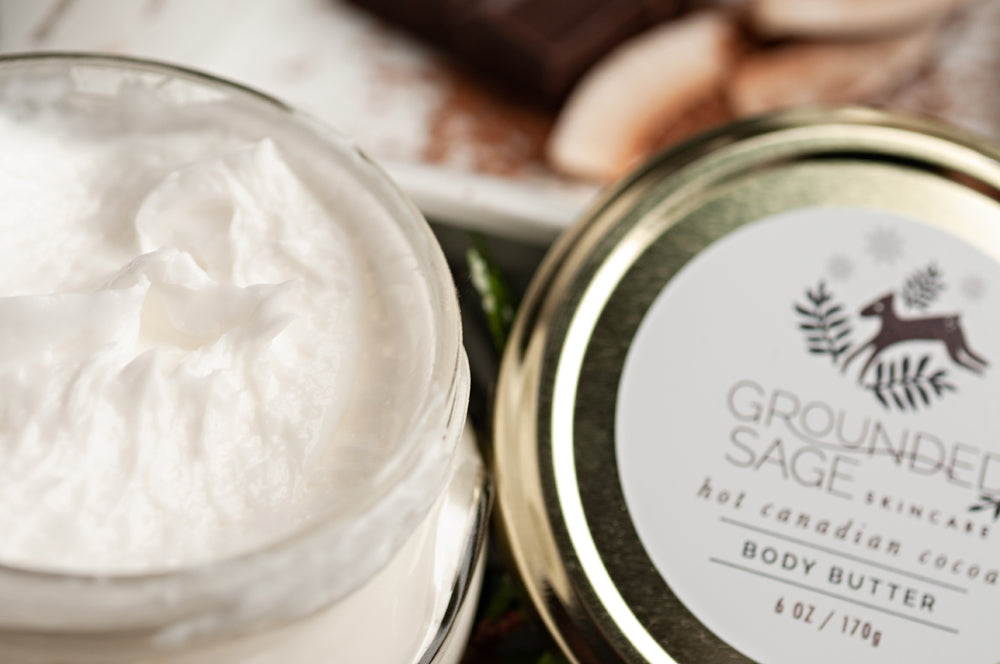Hot Canadian Cocoa (Maple Hot Chocolate) Holiday Body Butter