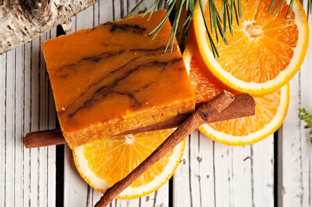Orange Cinnamon Spice Handmade Soap