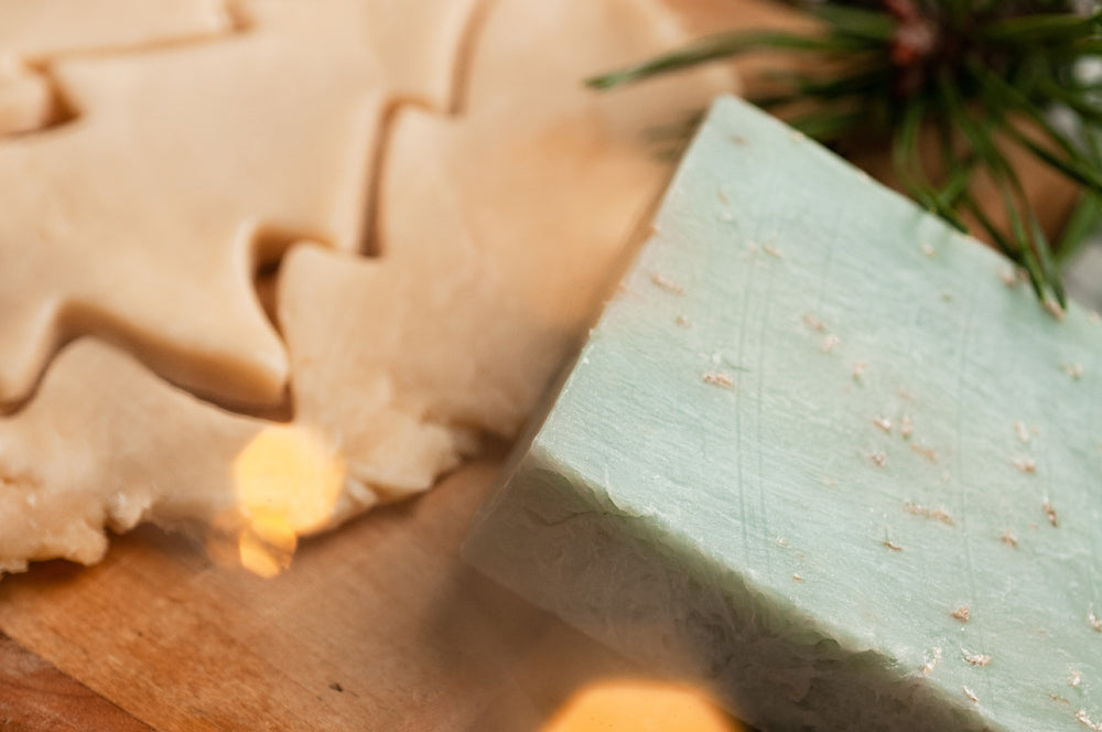 Let it Snow Holiday Handmade Soap