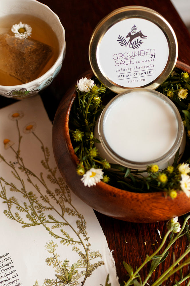 Calming Chamomile Creamy Facial Cleanser (for dry skin)