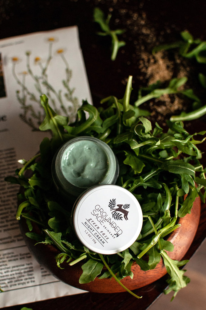 Green Ease Night Cream - natural redness relief for sensitive skin