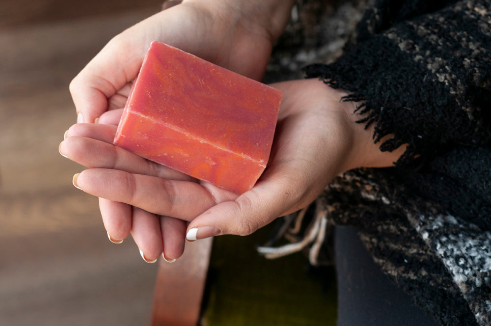Morning Mimosa Uplifting Citrus Handmade Soap Bar