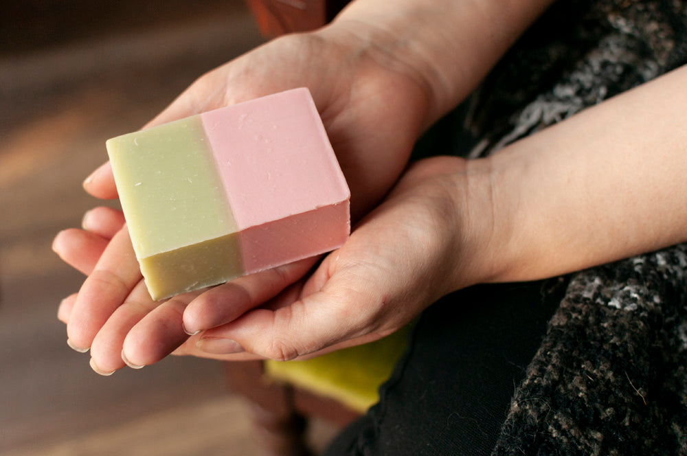 Pink Clay Refresh Anti-Pollution Handmade Soap Bar