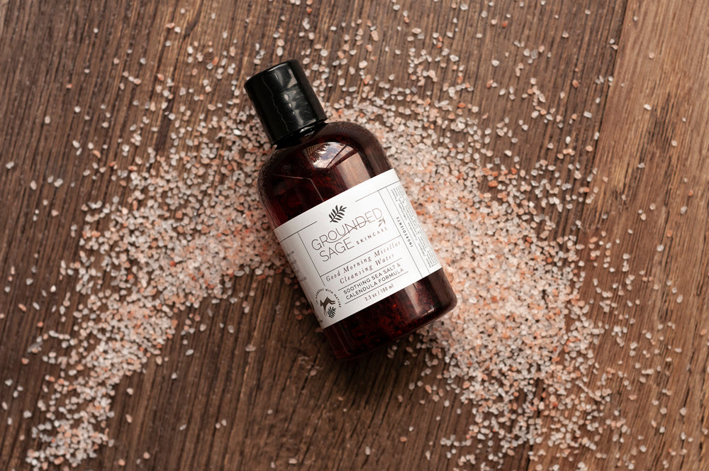 Soothing Sea Salt & Calendula - Good Morning Micellar Cleansing Water
