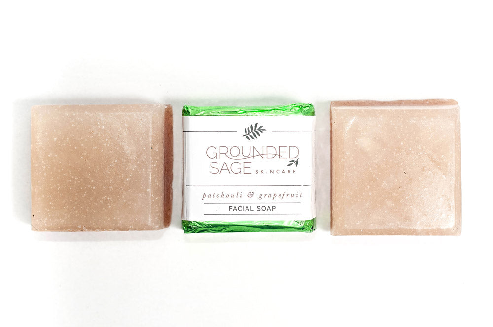 Patchouli Grapefruit Facial Soap