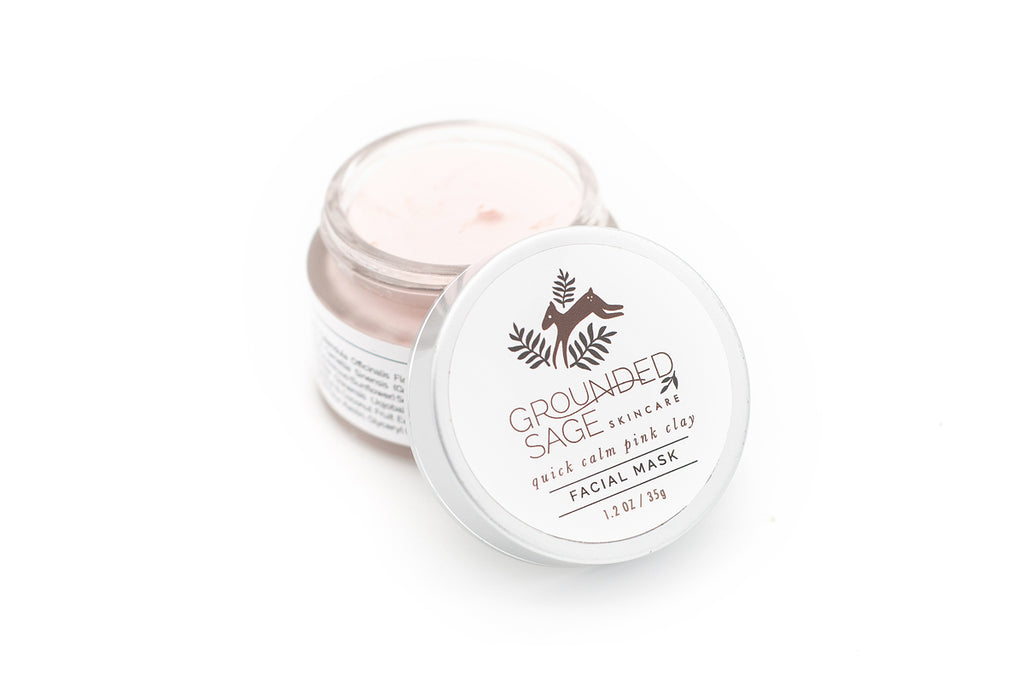 Quick Calm Calendula & Pink Clay Facial Mask