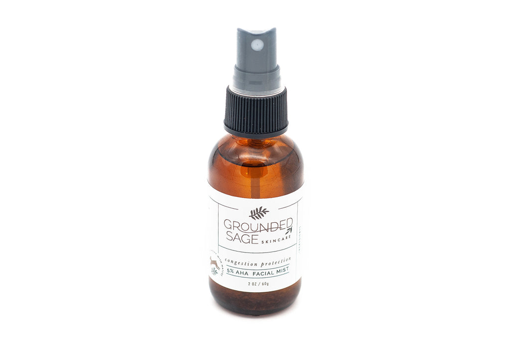 Congestion Protection 5% AHA Facial Mist - Targeted T-Zone Treatment