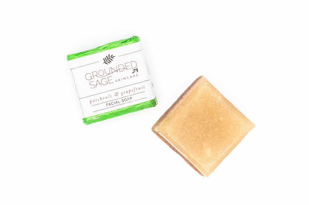 Patchouli & Grapefruit Facial Soap