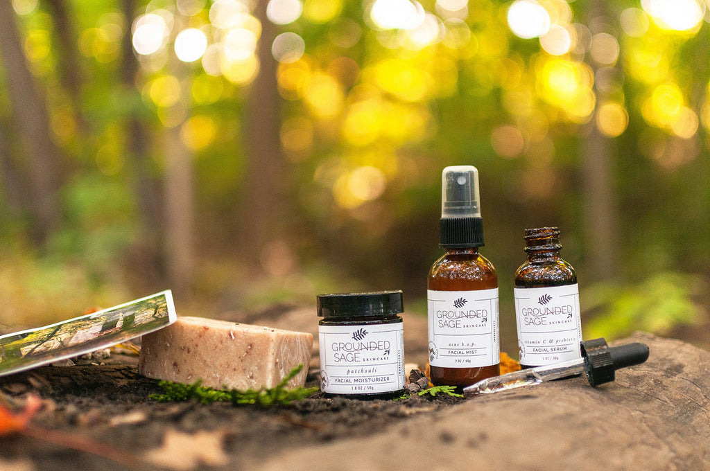 Into The Woods Skincare Gift Box