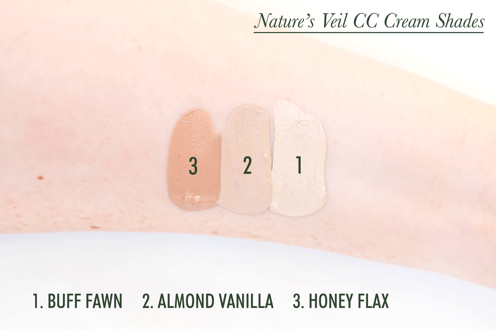Nature's Veil CC Cream (Tinted Moisturizer)