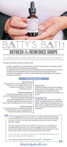 Refresh & Reinforce Drops