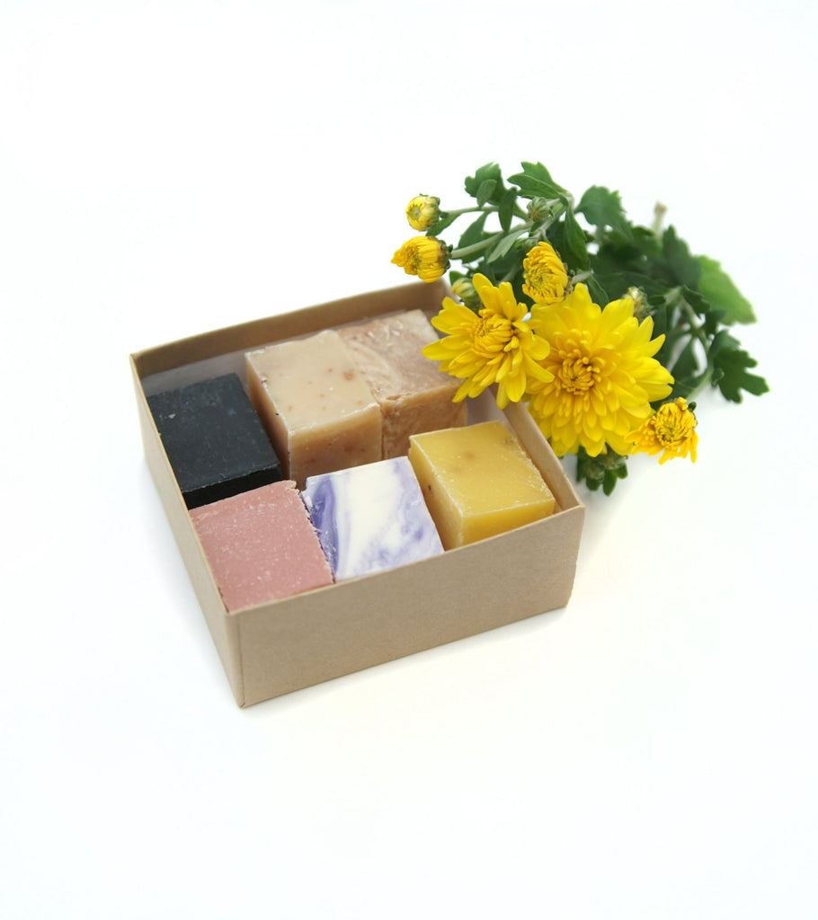 Handcrafted Soap Sampler Box