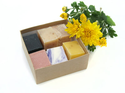 Natural Soap Sampler Box