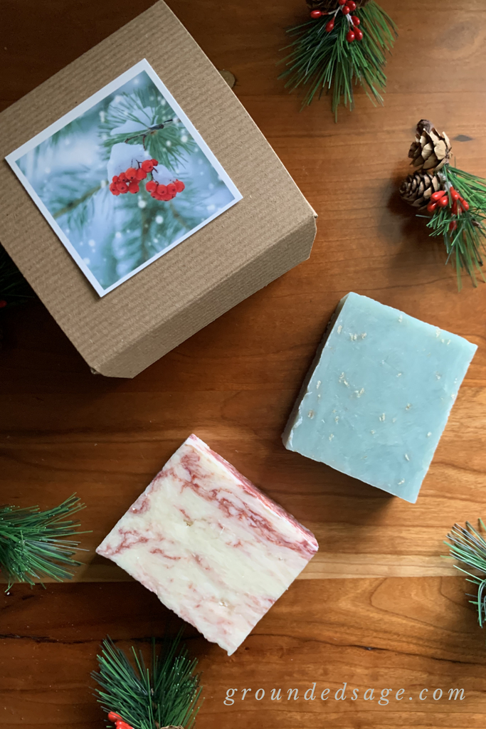 Handmade Holiday Soap Bundle - 2 pack