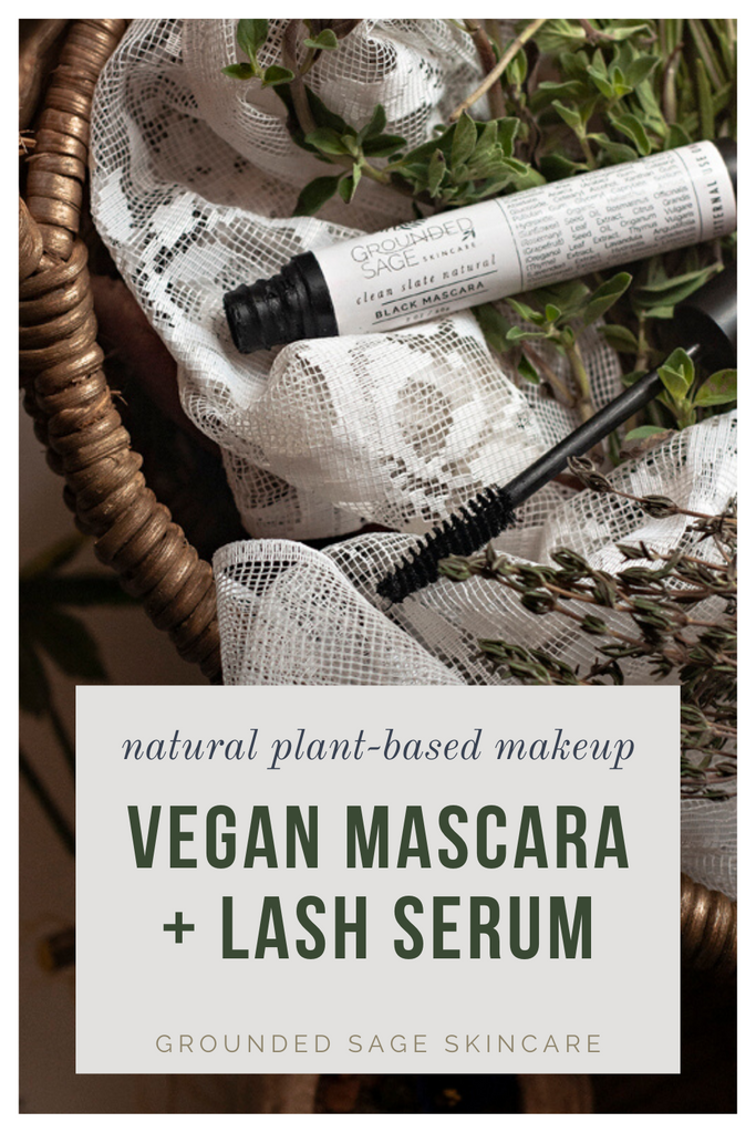 Clean Slate Natural Black Mascara