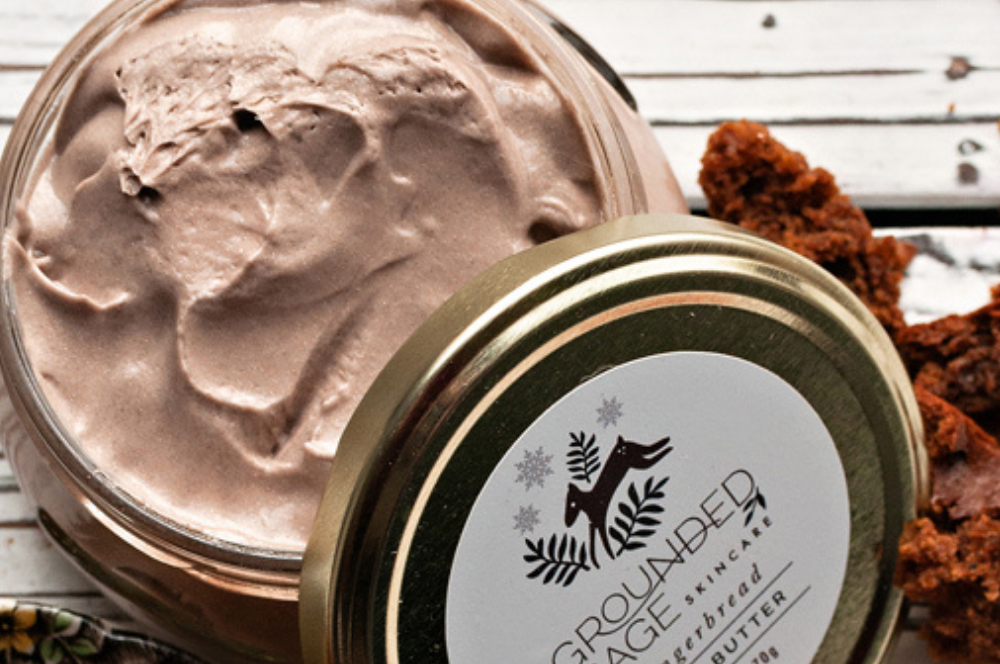 Gingerbread Shimmering Holiday Body Butter