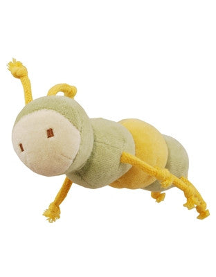 "Beginnings 4"" Maggie Caterpillar w/ Squeaker"