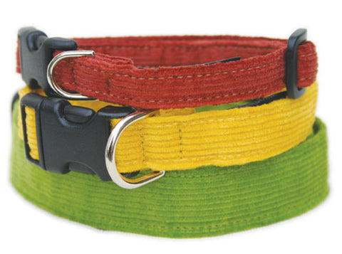 Hemp Corduroy Dog Collars