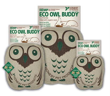 STUFFED ECO OWL BUDDY