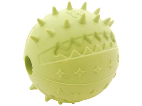 Rubb 'N' Roll Natural Rubber Dental Textured Ball
