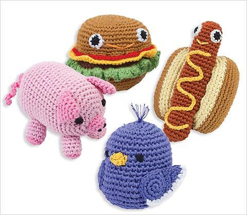 Knit Knacks Organic Cotton Crocheted Toys