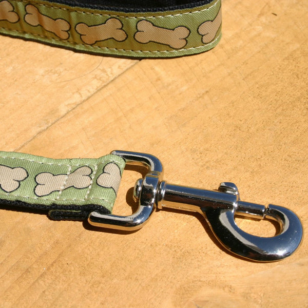 Bones Hemp Canvas Leash