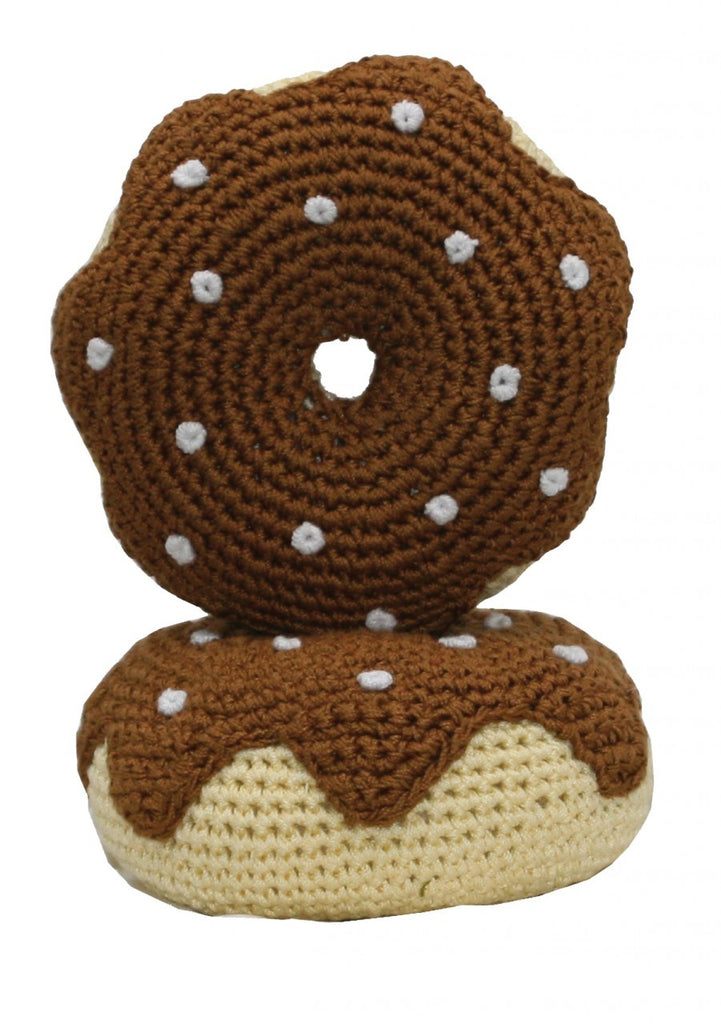 Chocolate Donut Organic Dental Toy