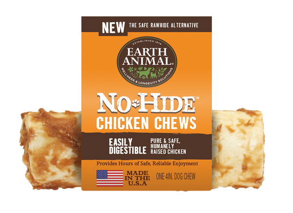 "NO-HIDE CHICKEN 4″ OR 7"" CHEWS"