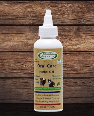 Organic Herbal Gel Oral Treatment for Dogs and Cats