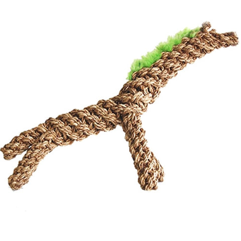 Natural Giraffe Dog Toy