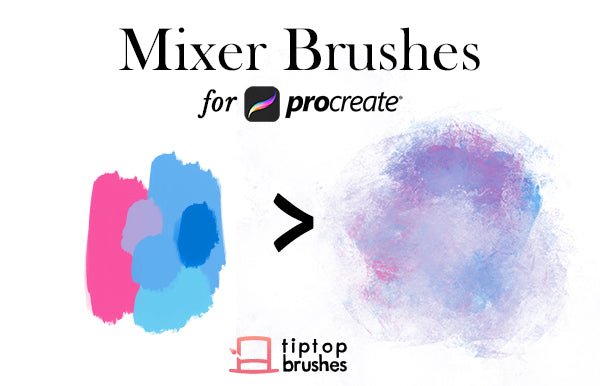 Mixer Brushes for Procreate 4