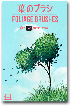 Foliage brushes