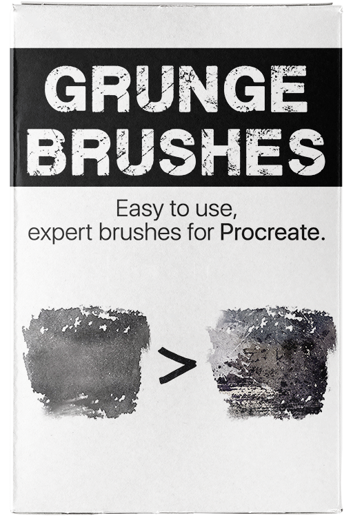 Grunge Brushes for Procreate