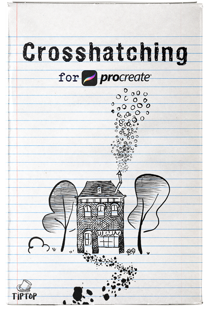 Crosshatching for Procreate