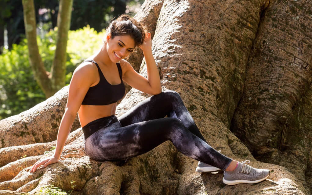 PERFECT LIGHTWEIGHT TEXTURED LEGGINGS