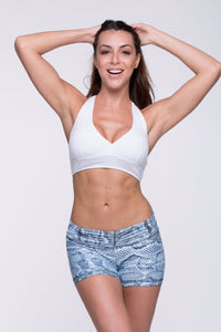 Crop Top Ilhéus - Supplex, White