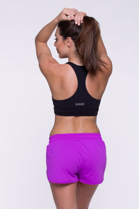 Crop Top Ilhéus - Supplex, Black