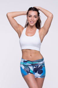 Crop Top Xingu - Supplex, White