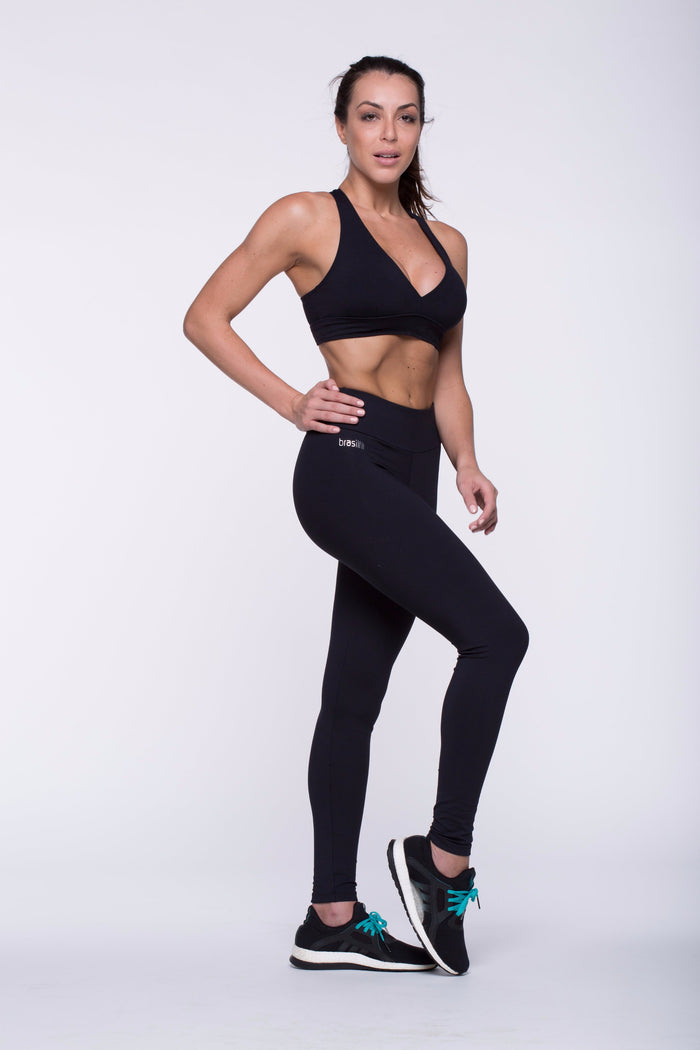 Legging Full Length - Supplex, Black