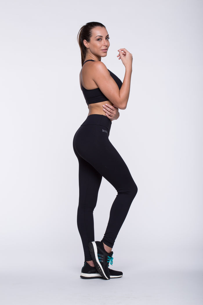 Legging Full Length - Emana® Anti-Cellulite, Black