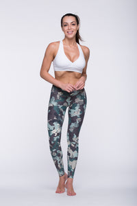 Legging Full Length Crazy Print - Amni, Cute Camouflage
