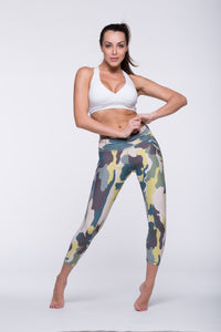 Legging Crazy Print - Amni, Clovers