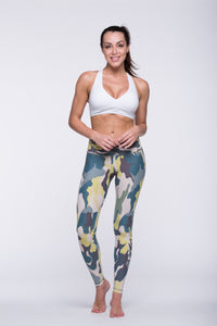 Legging Full Length Crazy Print - Amni, Clovers